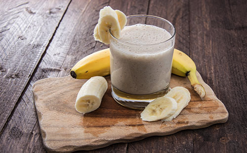 Smoothie banane avoine