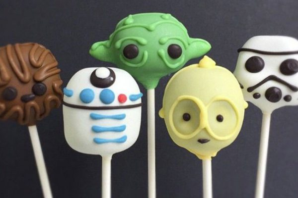 Cake pops Star Wars
