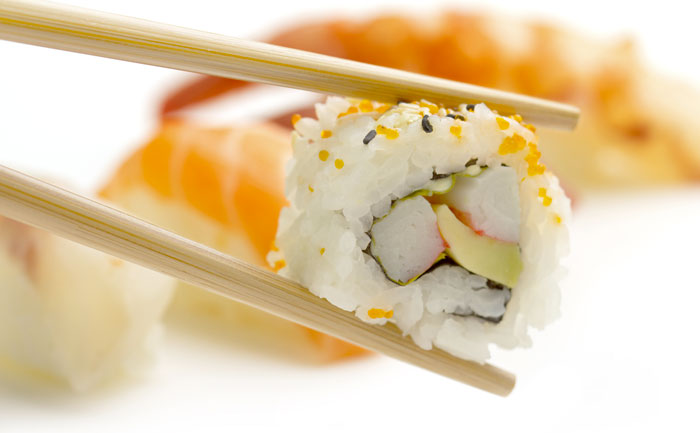 California rolls avocat surimi